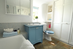 Bathroom at The Granary, Nether Stowey, Somerset